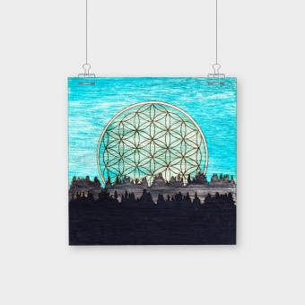 Flower Of Life Canvas